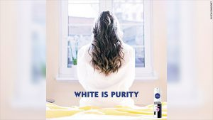 Nivea's 'white is purity' ad